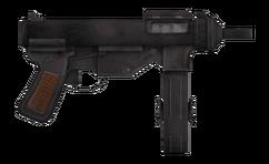 Vance's 9mm submachine gun