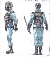 Vault 101 sec armor CA