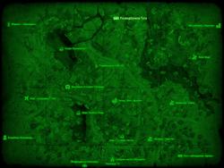 FO4 Разведбункер Тэта (карта мира)