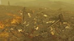 FO4 Vertibird Wreckage