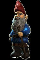 Fo4FH garden gnome blue