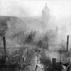 Слайд 9: 255-й піхотний полк у Вальденбурге (1945)