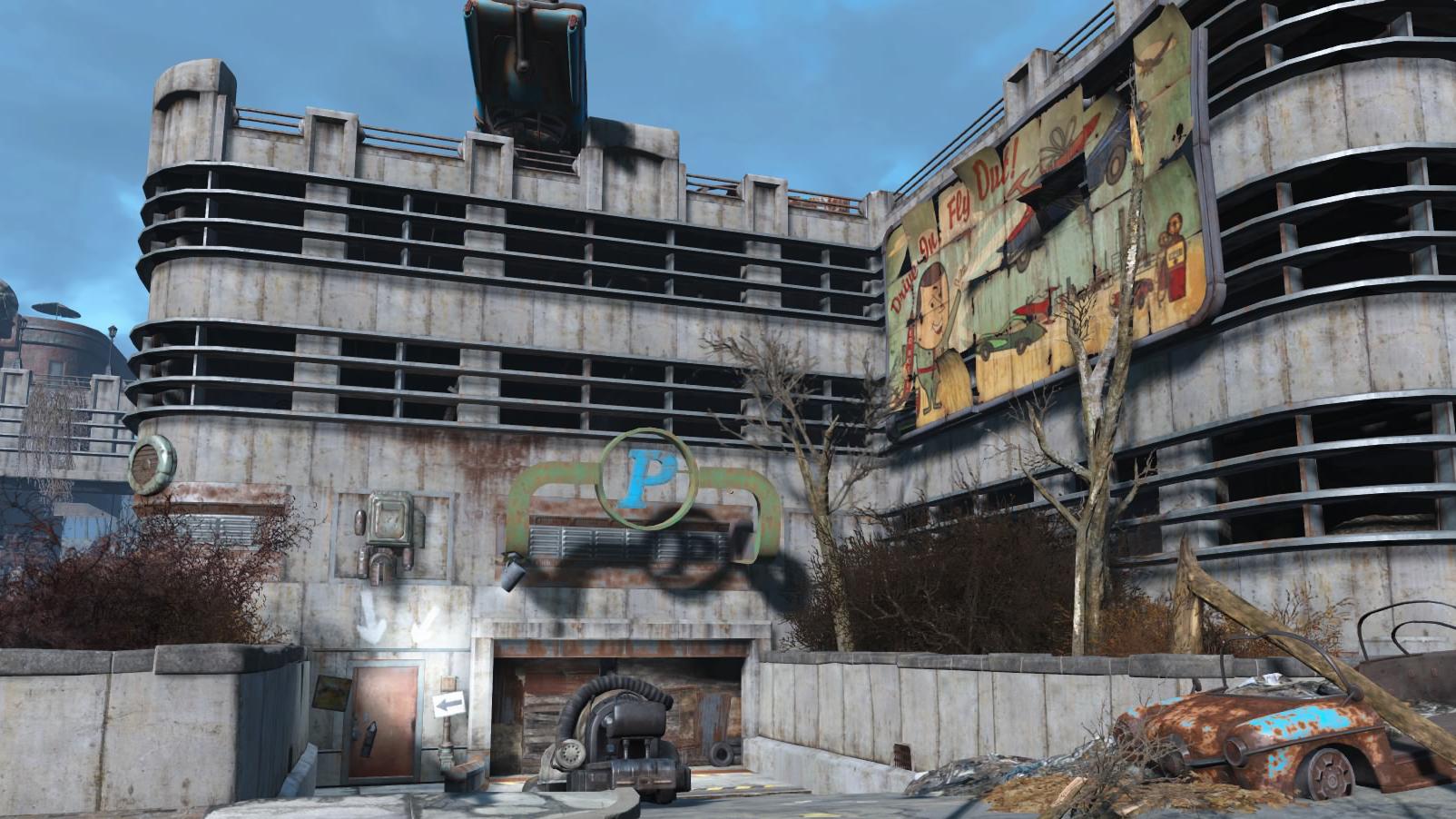 Milton parking garage | Fallout Wiki | FANDOM powered by Wikia