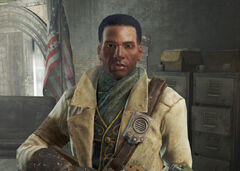 Preston Garvey no hat