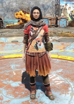 Scavenger's Nuka-Cola outfit