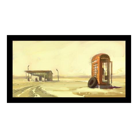 Телефонна будка, концепт-арт
