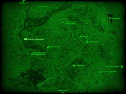 FO4 Хижина рейнджера (карта мира)