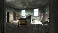 FO4 National Guard Training Grounds recruitment office 04