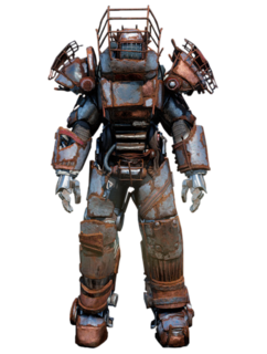 FO76 Raider power armor