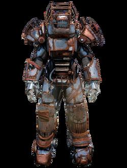 FO76 Raider power armor