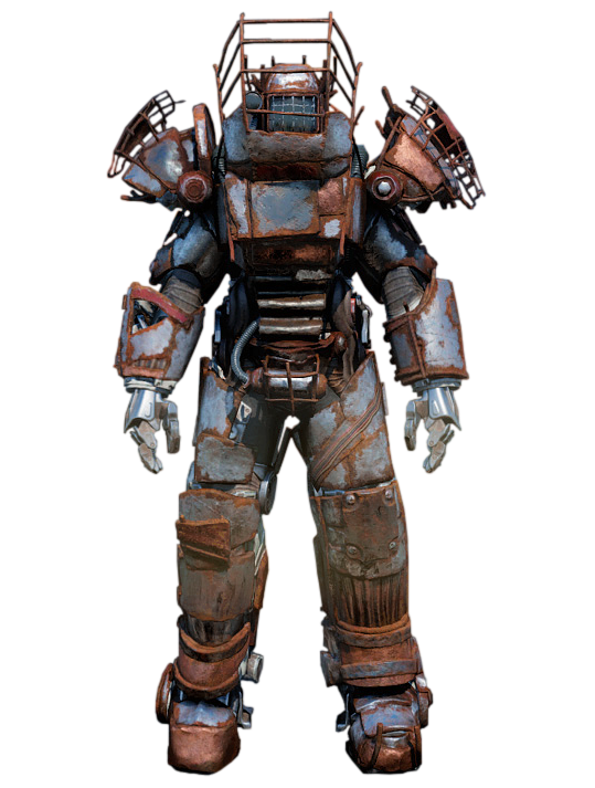 Image result for fallout raider power armor