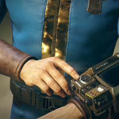 Promotional image of the Pip-Boy