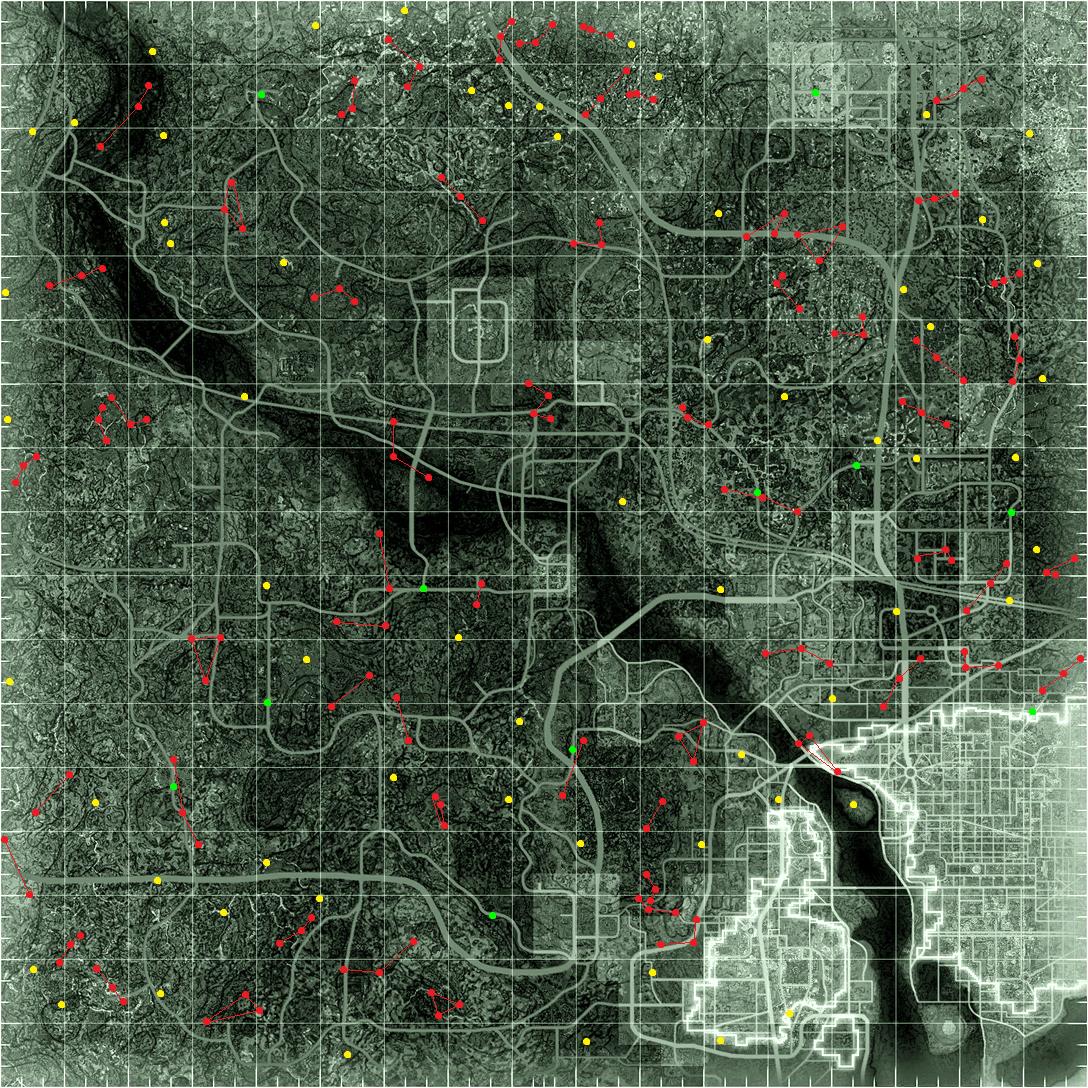 Bild - Fallout 3 - spawn point map.png | Fallout Wiki | FANDOM ...
