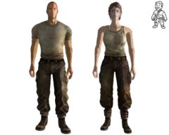 Merc grunt outfit