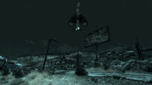 FO3 UFO Crash with Firelance
