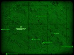 FO4 Федеральный центр наблюдения K-21B (карта мира)