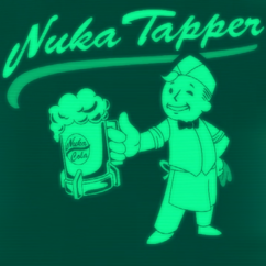 FO76 Nuka Tapper splash screen