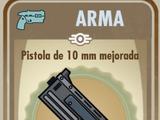 Pistola de 10 mm mejorada