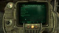 Fallout 3 stealth armor headgear bug