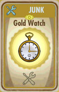 FoS Gold watch Card