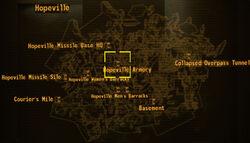 LR Hopeville armory loc
