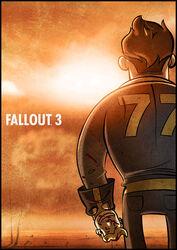 Comix 00 smaller fallout poster flat
