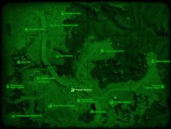 FO4 Руины Квинси (карта мира)