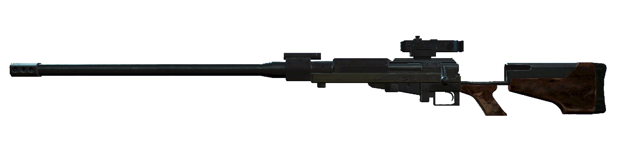 Anti Materiel Rifle anti-materiel rifle (creation club) | fallout wiki | fandom
