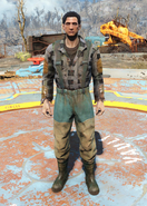 Fo4fh - Green Fisherman's Overalls