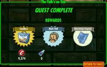 FoS The Yolk's on You rewards