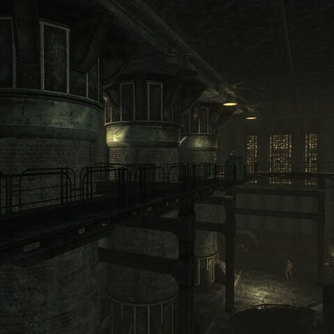 Power plant's interior