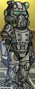 T60 Power Armor Male