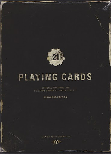 Vault 21 Playing Cards