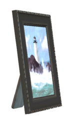 FO76 Framed lighthouse photo