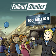 Fallout Shelter 100 million users