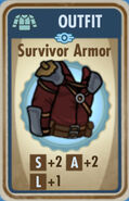 FoS Survivor Armor Card