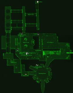 Fun House local map