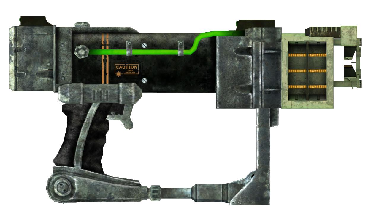 Laser pistol focus optics