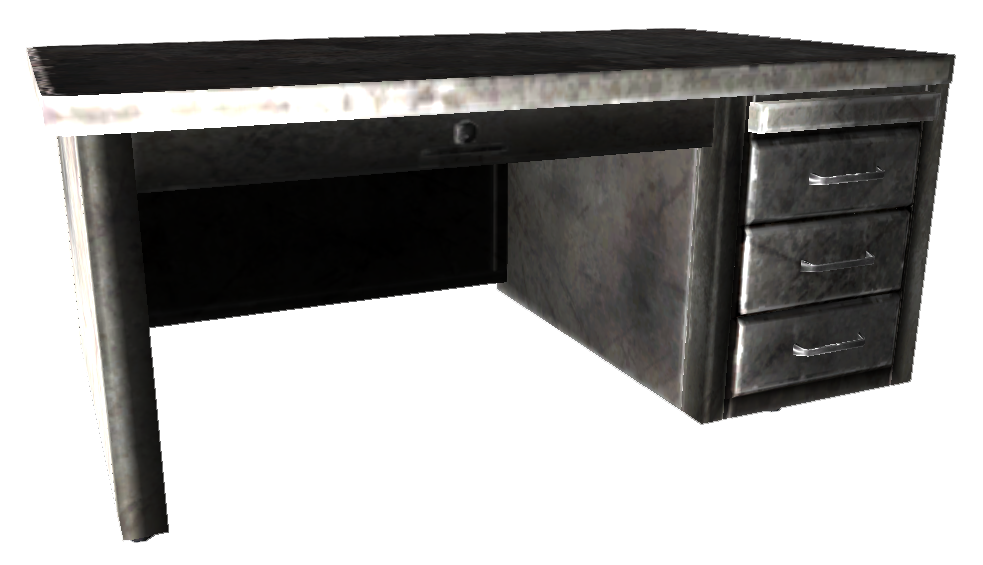 Metal Office Desk Png
