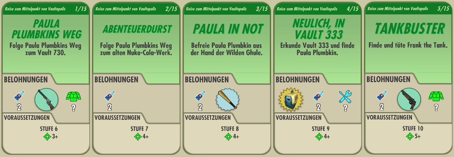 Fallout Shelter Quests Fallout Wiki Fandom Powered By Wikia