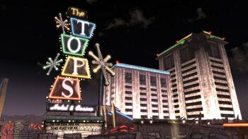 FNV The Tops at night