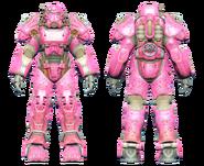 FO4CC T-60 power armor Slocum's Joe pink