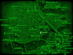 FO4 Тикондерога (карта мира)