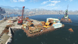 FO4 Unloading Barge (1)
