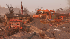 FO76 Red Rocket filling station