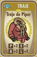 FOS Traje de Piper carta