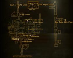Vault 21 Vault map