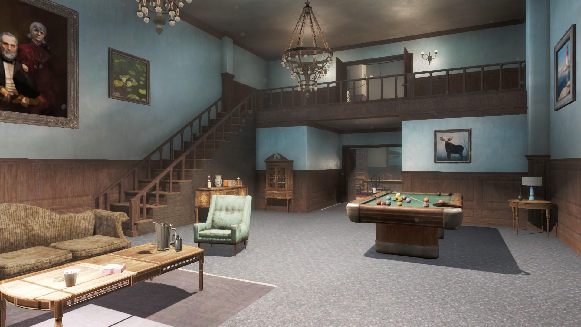 Marvelous Cabot House Living Room