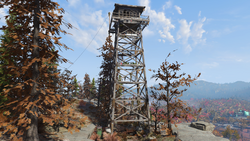 FO76 East Mountain lookout