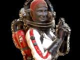Костюм «Ракета» Ядер-Гёрл (Fallout 76)